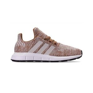 ADIDAS | Kids Swift Run — Tan